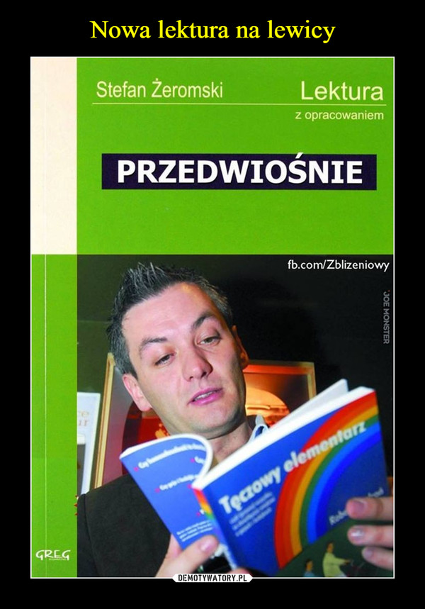 –  Stefan Žeromski Lektura z opracowaniem PRZEDWIOSNIE fb.com/Zblizeniowy
