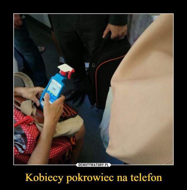 Kobiecy pokrowiec na telefon –