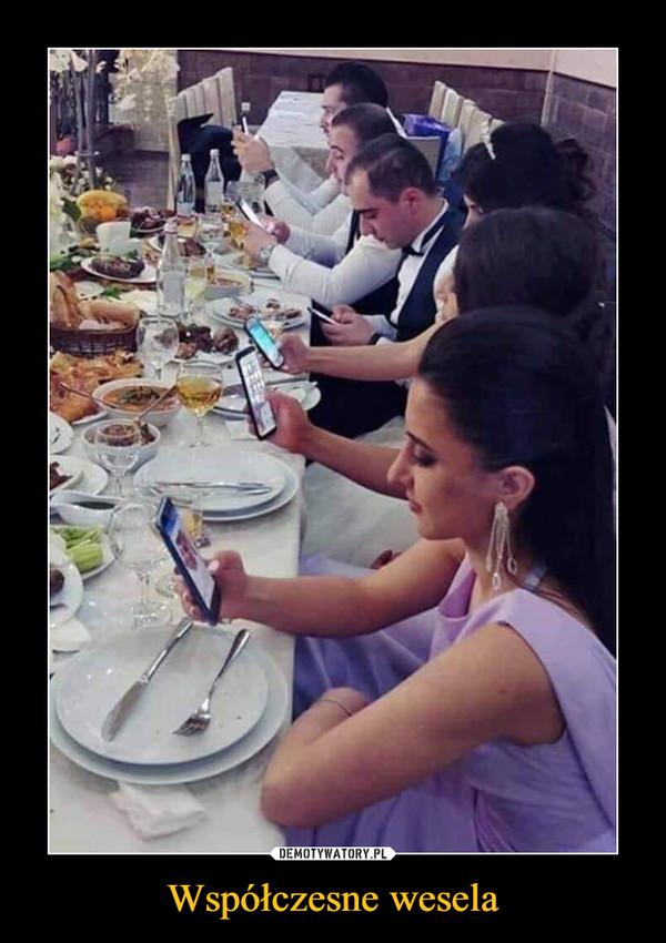 Współczesne wesela –
