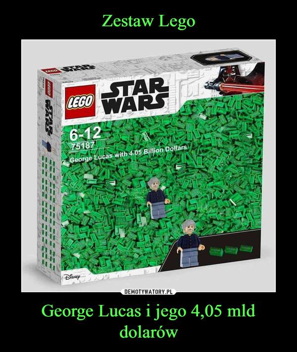 George Lucas i jego 4,05 mld dolarów –