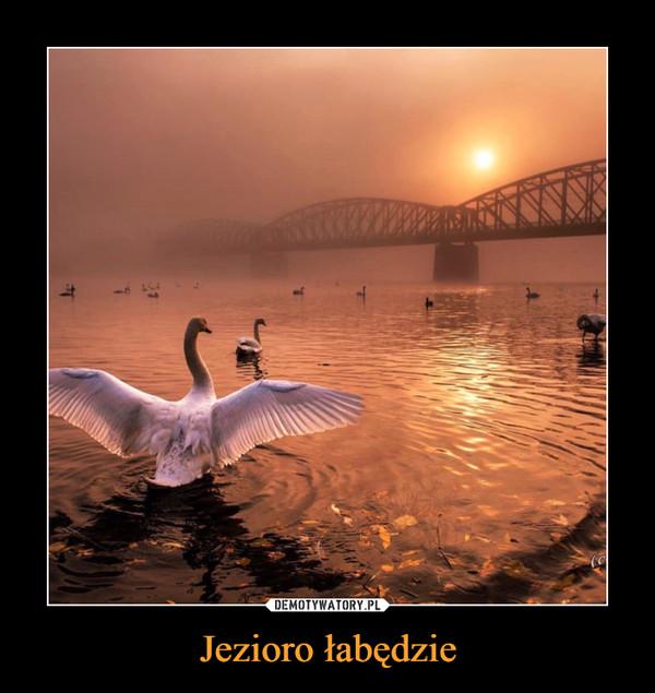 Jezioro łabędzie –