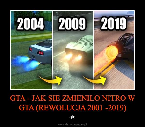 GTA - JAK SIE ZMIENILO NITRO W GTA (REWOLUCJA 2001 -2019) – gta