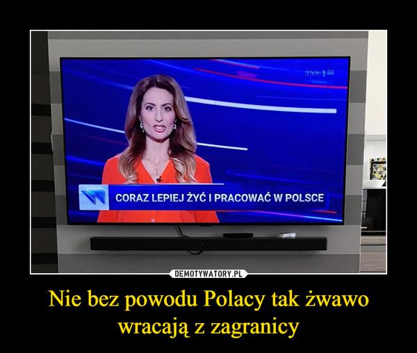 Nie bez powodu Polacy tak żwawo wracają z zagranicy –