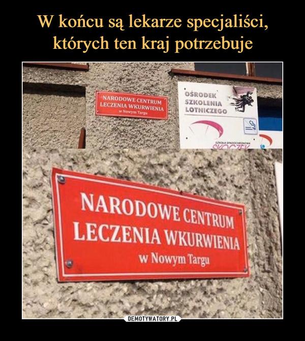 –  narodowe centrum leczenia wkurwienia w nowym targu