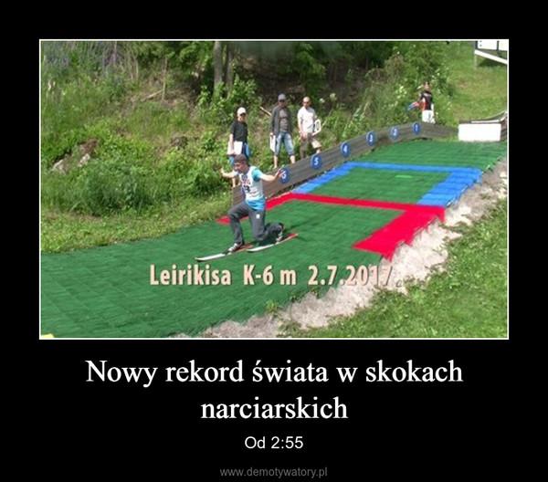 Nowy rekord świata w skokach narciarskich – Od 2:55