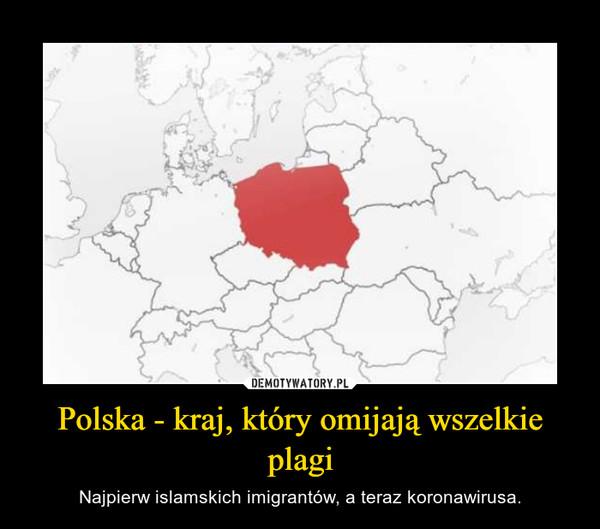 Polska - kraj, który omijają wszelkie plagi – Najpierw islamskich imigrantów, a teraz koronawirusa.