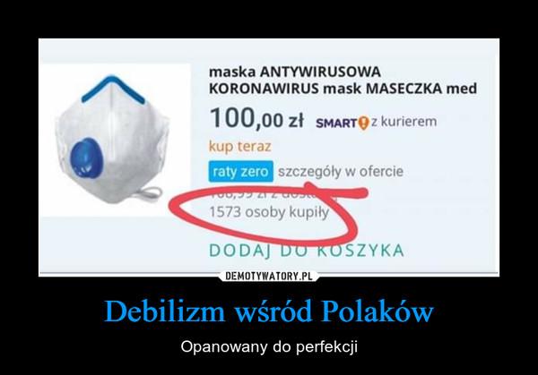 Debilizm wśród Polaków – Opanowany do perfekcji