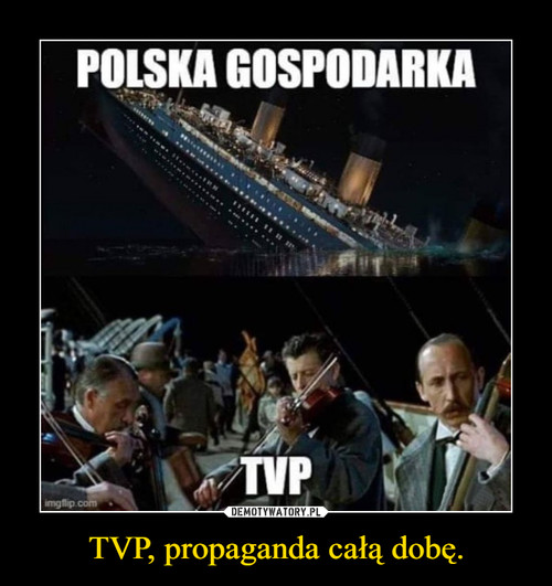TVP, propaganda całą dobę.