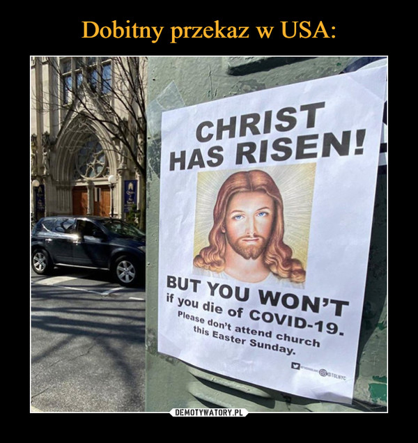 –  CHRIST HAS RISEN!