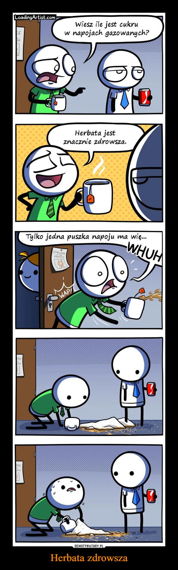 Herbata zdrowsza