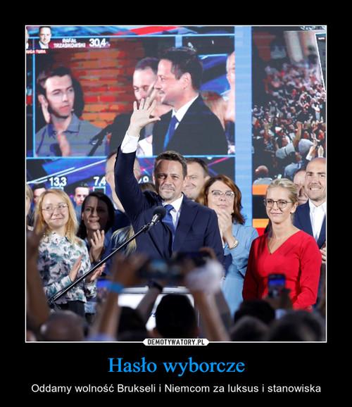 Hasło wyborcze