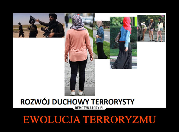 EWOLUCJA TERRORYZMU –