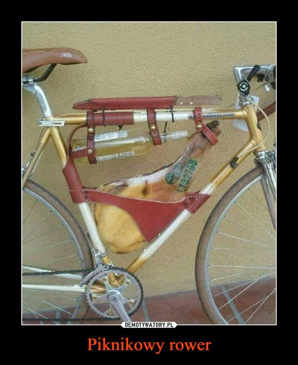 Piknikowy rower –