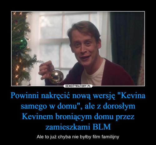 """Powinni nakręcić nową wersję """"Kevina samego w domu"""", ale z dorosłym Kevinem broniącym domu przez zamieszkami BLM"""