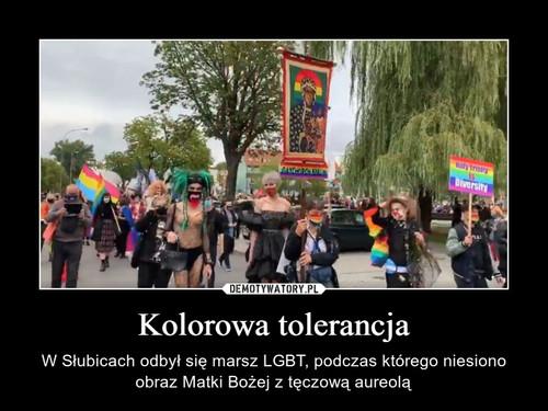 Kolorowa tolerancja