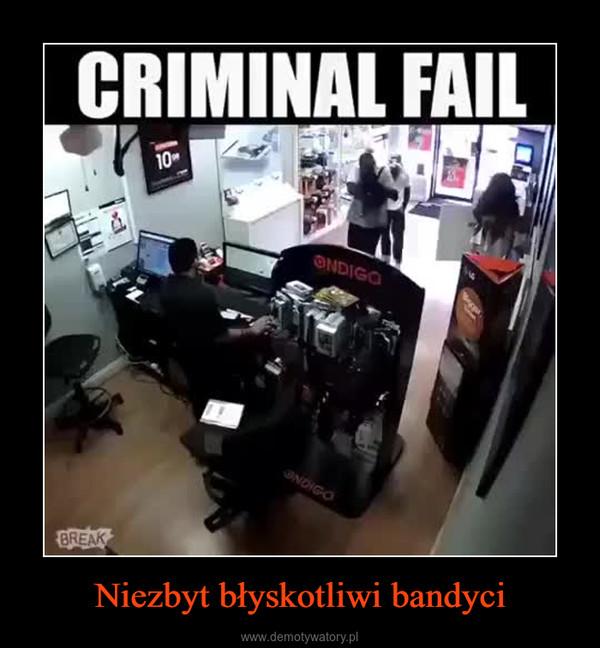Niezbyt błyskotliwi bandyci –  CRIMINAL FAIL