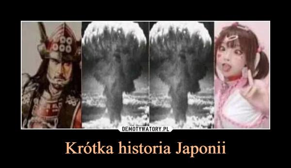 Krótka historia Japonii –