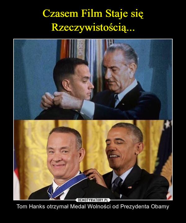 – Tom Hanks otrzymał Medal Wolności od Prezydenta Obamy