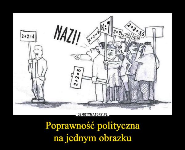 Poprawność politycznana jednym obrazku –