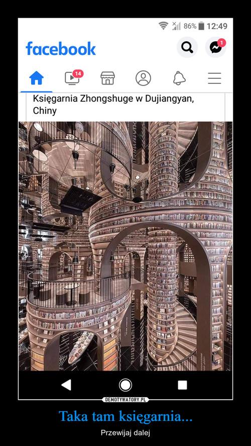 Taka tam księgarnia...