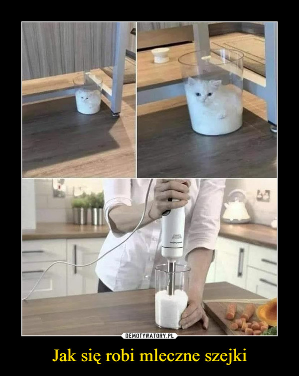 Jak się robi mleczne szejki –