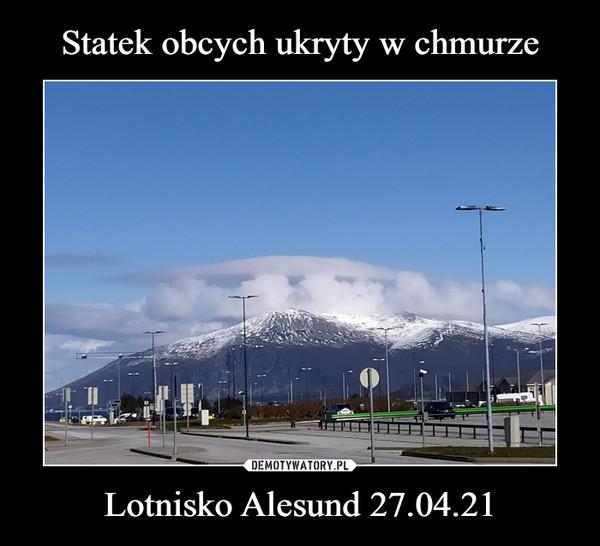 Lotnisko Alesund 27.04.21 –