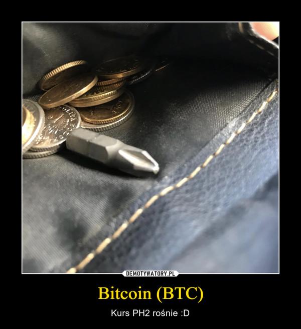 Bitcoin (BTC) – Kurs PH2 rośnie :D