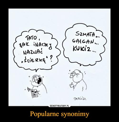 Popularne synonimy