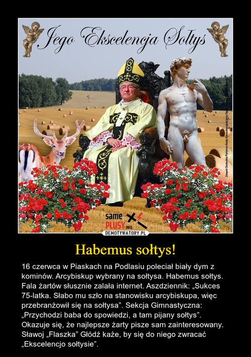 Habemus sołtys!