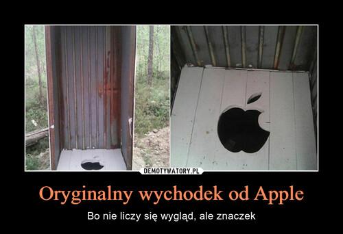 Oryginalny wychodek od Apple